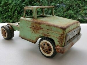 Vintage Pressed Steel 1960's TONKA Truck Cab & chassis for parts or restore.