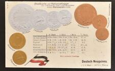 GERMANY Colony New GUINEA 1900ca, Gold/Silvers Coins + Exchange Rates Pic PPC !!