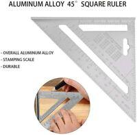 Righello Triangolo Alluminio Squadra Alluminio per Misurazione Triangolo YOTINO