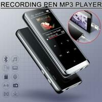 16GB Walkman Bluetooth 4.2 HIFI MP3 Player FM Lossless Recording Touch Screen