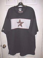 Houston Astros MLB Majestic Vintage Black Team Logo XL Mesh Jersey