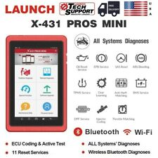 LAUNCH X431 PROS MINI OBD2 Diagnostic Scanner ScanPad Tool Active Test WiFi BT
