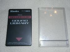RHODES ROLAND CARD SOUND LIBRARY SN-U01-03R ETHNIC U20,D70,MV30,660,670