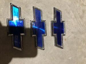 "(Approx: 4-3/8"") Chevrolet Lumina Monte Carlo Rear Trunk Emblem Bowtie Badges 3"