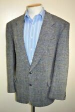 Harris Tweed Coats & Jackets Big & Tall Wool Outer Shell for Men