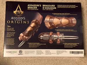 Assassin's Creed Origins Bracer with Hidden Blade ThinkGeek Ubisoft Cosplay