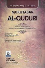 Mukhtasar Al-quduri an Explanatory Translation Islamic Books UK 786 Darsi