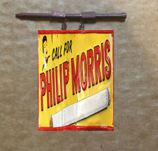 METAL O SCALE 1:18 HANGING PHILLIP MORRIS TOBACCO BUILDING LAYOUT DIORAMA SIGN