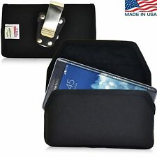 Turtleback Galaxy Note Edge Nylon Pouch Holster Case Rotating Metal Belt Clip