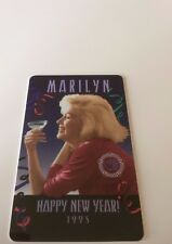 Marilyn Monroe Phone Card Happy New Year 1995 Phonecard GEM Limited ed 5890/6000