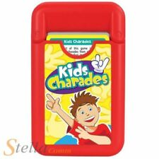 Kids Charades Game Pod Travel Pocket Acting Guessing Card Game