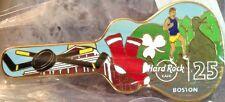 Hard Rock Cafe BOSTON 2014 25th Anniversary Mini-MAGNET Guitar w/City Icons NEW!