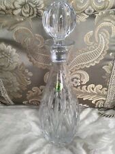 """STUNNING WATERFORD CUT CRYSTAL DECANTER W/ STOPPER - 13 """""""