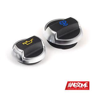PORSCHE 911 OIL & COOLANT CAP COMBO (FITS VW/AUDI/SEAT/SKODA/1.8T/2.0T/TDI)