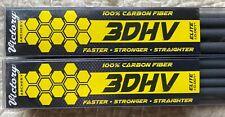 VICTORY 3DHV ELITE EXPERT V1 SERIES 350 SPINE LOT OF 2 DOZEN ARROW SHAFTS NIB