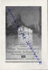 BERLIN-HAGEN, Werbung 1928, AFA Accumulatoren-Fabrik AG Beleuchtung Batterien