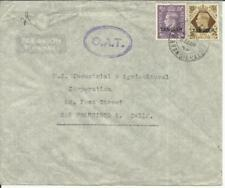 Morocco Agencies TANGER SG#263,#272 - 25/MR/49 - O.A.T. AIRMAIL to USA
