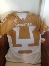 PUMAS  UNAM HOME PUMA SHORT SLEEVE SOCCER/FUTBOL JERSEY 2013/14 NWT Size XXL MEN