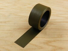 "2"" Olive Green Colored Duct Tape Colors Waterproof UV Tear Resistant 20 yd 60'"