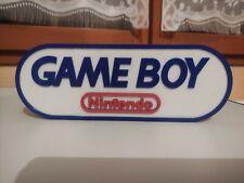 Logo Géant Gameboy