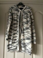 Second Female @ Net A Porter Chunky Tweed Knit Cardigan Jacket Size M 10 -12 New