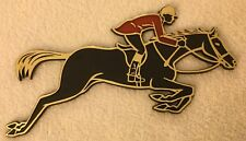 Hunter Jumper Plastic Plaque