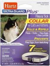 New listing 3 Pk Hartz UltraGuard Plus Flea & Tick Collar for Cats and Kittens
