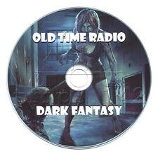 Dark Fantasy - Old Time Radio (OTR) Horror MP3 CD ....gHoST sToRiES Audiobook