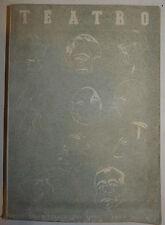 Rivista Spettacolo fascismo, Teatro anno 1 n.2 1935 Guide Alleanza Libro disegni