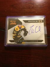 2010-11 Luxury Suite Autographed Rookie Zach Hamill Hockey Card Mint #149
