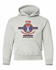 """11TH LIGHT INFANTRY BRIGADE """"CONGRESSIONAL MEDAL"""" CAMPAIGN HOODIE W/POCKETS"""