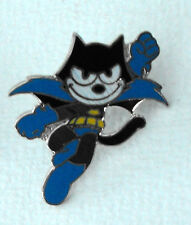 FELIX THE CAT as BATMAN pin mint licensed 1988 FRANCE cool item must have L@@K