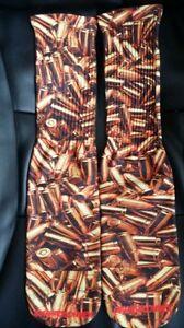 Custom Ammo DRY FIT Socks  Gun X XI IV V bred steel gold TshirtConnex