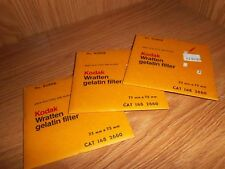Unused Kodak Gelatin Filter N. 85BN6