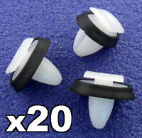 20x Fiat Ducato Exterior Side Moulding Rub Bumpstrip / Lower Door Trim Clips