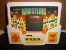 HANDHELD GAME, WRESTLING, TIGER, 1988, COLLECTIBLE, VINTAGE