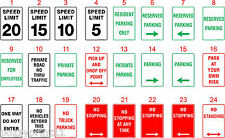Parking Australian Health & Safety Signs OHS Standard Signs Work Place Signs
