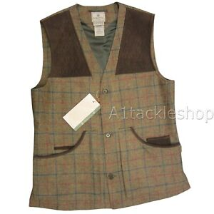 Beretta St James Tweed Country Shooting Waistcoat Vest GU4L