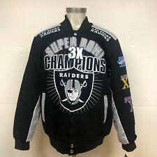 Las Vegas Raiders 3-Time Superbowl Champions Jacket