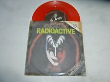 "GENE SIMMONS - Radioactive - 1978 UK 7"" single pressed on RED VINYL"
