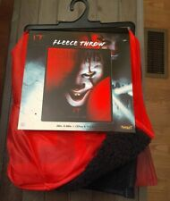 """Brand New """"IT"""" Chapter Two Pennywise Plush Fleece Throw Blanket 50"""" × 60"""""""