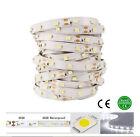 16.4FT 12v Cool White 5M 3528 SMD Flexible 300 LED Strip Lights Non-waterproof