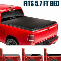 SUPER DRIVE Roll Up Lock Tonneau Cover For 2009-2018 Dodge Ram 1500 5.7FT Bed
