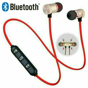 Bluetooth Wireless In-Ear Headphones with Mic Magnetic Sports Running Earphones