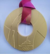 2006 TORINO GOLD MEDAL OLYMPIC GAMES WITH RIBBON!
