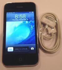 iPhone 3G - 8GB - Black (Factory Unlocked) A1241 (GSM)