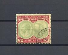 ST KITTS NEVIS 1921-29 SG 47C USED Cat £100