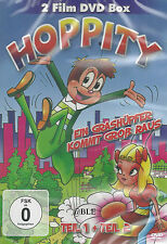 DVD + Hoppity + Ein Grashüpfer kommt groß raus + Teil 1 und 2 + Zeichentrick +