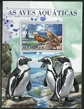 MOZAMBIQUE   2017  AQUATIC BIRDS SOUVENIR SHEET MINT NH