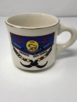 Vintage Wista Lodge 288 Cherokee Boy Scout Coffee Cup Mug 1970's Made In USA